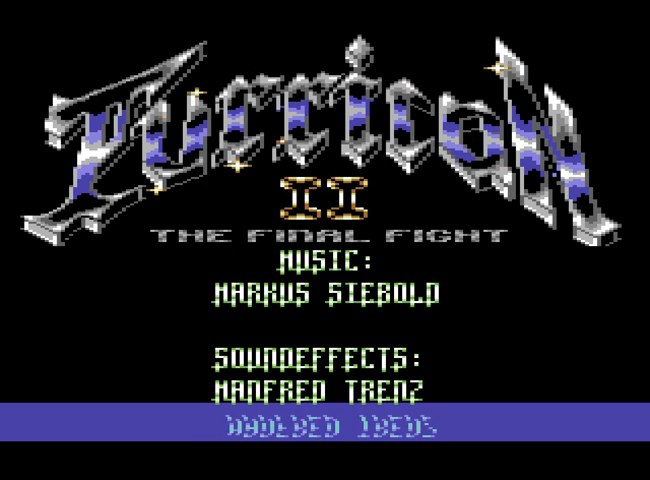 File:Turrican II - The Final Fight - C64 - Credits.png