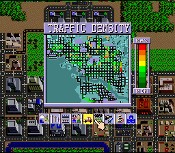 SimCity - SNES - Traffic Density.png