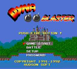 Dyna Blaster - DOS - Title.png