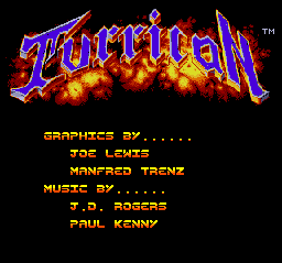 File:Turrican - TG16 - Credits.png
