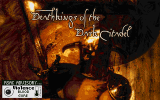 Hexen - Deathkings of the Dark Citadel - DOS - Title.png
