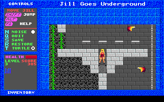 Jill of the Jungle - Jill Goes Underground - DOS - Level 3.png