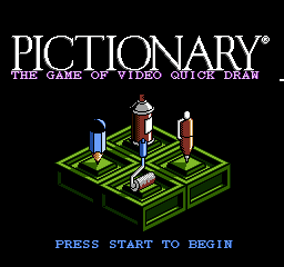 Pictionary - NES - Title Screen.png