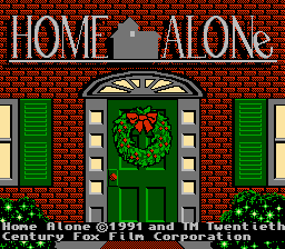 Home Alone - NES - Title Screen.png