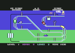 Kong Strikes Back! - C64 - Stage 1.png