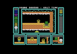 One Man and His Droid - C64 - Cavern.png
