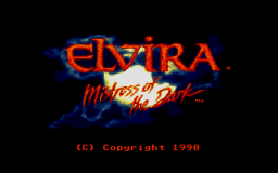 Elvira - DOS - Title Screen.png