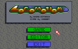 Locomotion - DOS - Menu.png