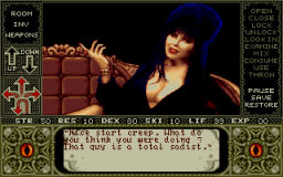 Elvira - DOS - Gameplay 3.png