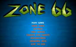 Zone 66 - DOS - Main Menu.png