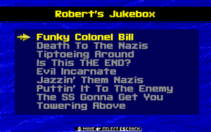 Spear of Destiny - DOS - Jukebox.png