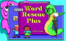 Word Rescue Plus - DOS - Title.png