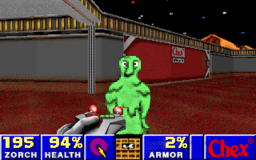Chex Quest - DOS - Landing Zone.png