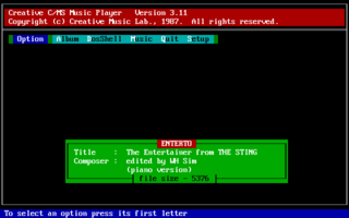 Creative Music System - DOS - The Entertainer.png