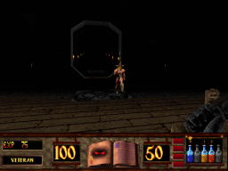 Witchaven 2 - DOS - Combat 2.png