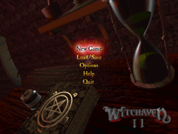Witchaven 2 - DOS - Title.png