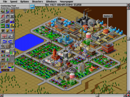 Sim City 2000 - DOS - Small Town.png