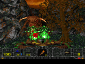 Hexen - PS1 - Hub 2 Caves of Circe.PNG