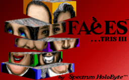 Faces - DOS - Title Screen.png
