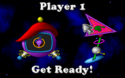 Fuzzy's World of Miniature Space Golf - DOS - Player 1.png