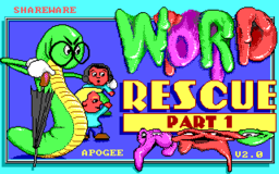 Word Rescue - DOS - Title.png