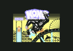 Kong Strikes Back! - C64 - Title.png