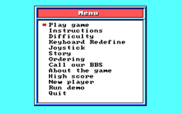 Word Rescue - DOS - Menu.png