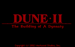 Dune 2 - DOS - Title.png