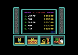 One Man and His Droid - C64 - Hi-Score.png