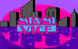 Miami Vice - DOS - Title Screen.png